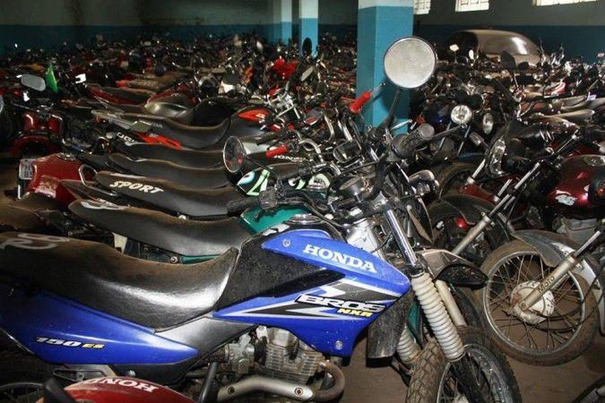 Leilão de motos online do Detran de São Paulo tem +1 mil motos