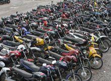 Detran faz leilão com 603 motos e 46 carros