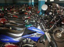 leilão de motos apreendidas Detran 2018