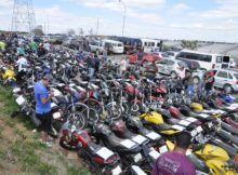 Detran realizará leilão online com 45 motocicletas entre outros