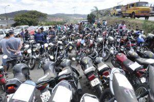 116 motocicletas estarão disponíveis para leilão
