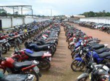 Detran coloca 702 veículos a leilão no mês de julho