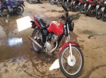 Leilão da PRF tem Honda CG125 com lance inicial de R$550