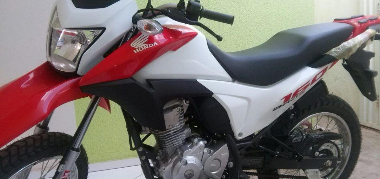 Leilão de motos no Banco Santander