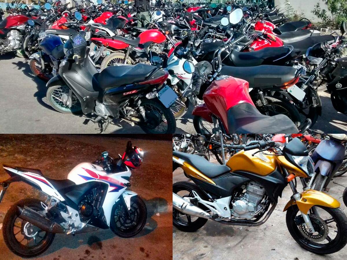 Leilão de motos apreendidas - Polícia Rodoviária Federal