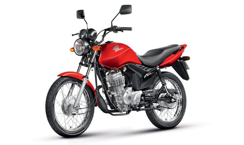 Leilão do Detran temCG 125 FAN com lance inicial de R$ 500,00