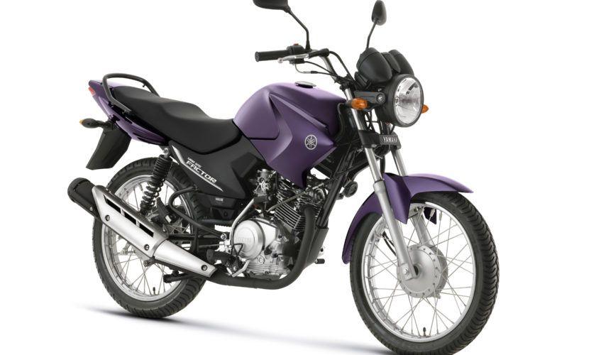 Leilão tem YBR 125K com lance inicial de R$ 300,00