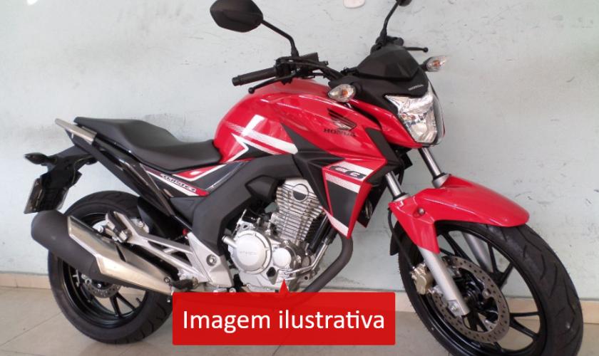 Leilão do Detran tem moto Honda CBX 250 Twister por R$1.200,00