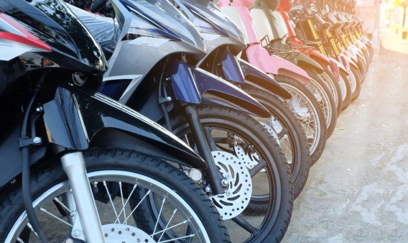 Detran está leiloando nesta quarta-feira motos com lance inicial de R$ 500