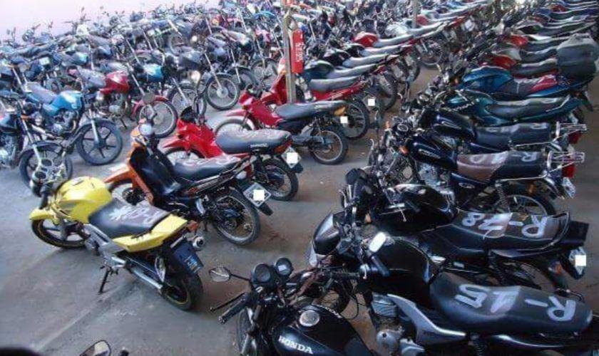 Leilão de motos online com preços abaixo do mercado