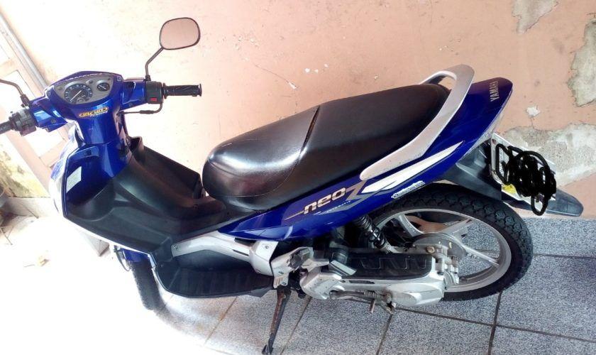 Leilão do Detran tem Yamaha Neo AT115 2008 com lance inicial de R$900