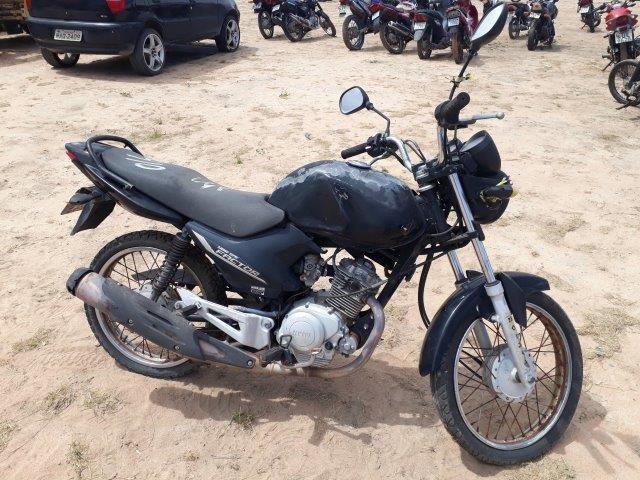 Leilão da prefeitura de Boa Vista tem Yamaha Factor YBR 125cc a R$400 reais