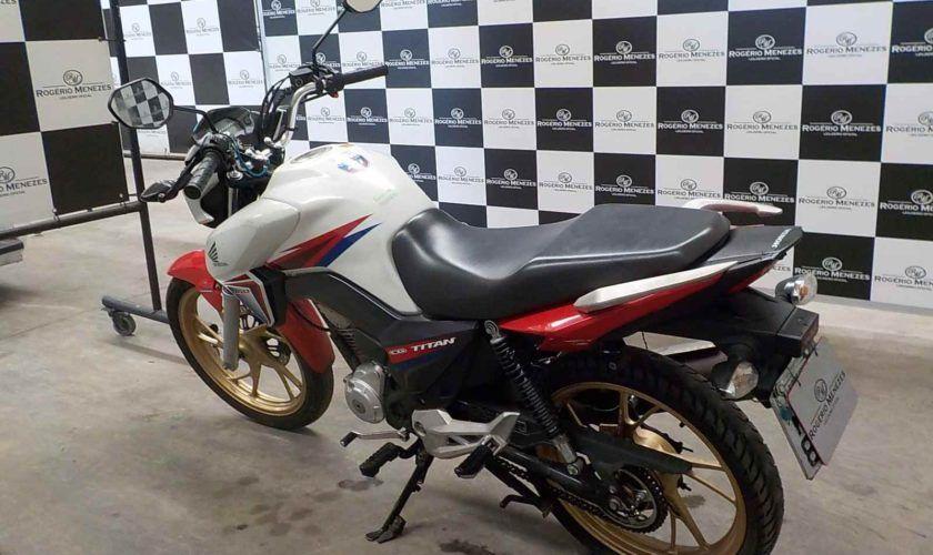 Leilão do DETRAN tem Honda CG 160cc TITAN EX a R$ 3,2 mil