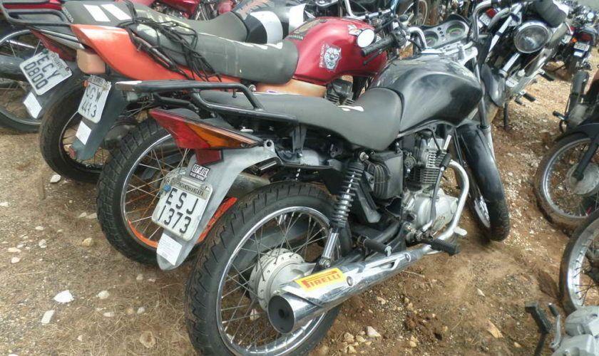 Leilão do DETRAN tem Honda CG 125cc FAN a R$ 2 mil