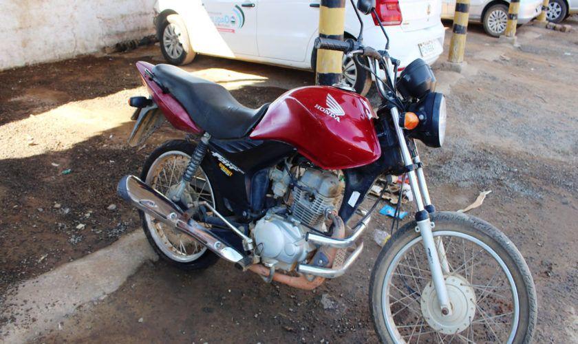 Leilão da Justiça Estadual tem moto Honda CG FAN a R$ 150 reais