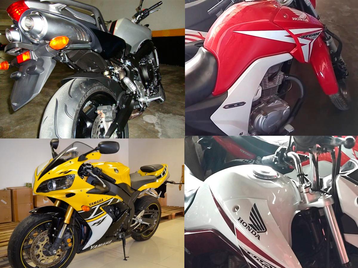 Comprar moto de leilão vale a pena