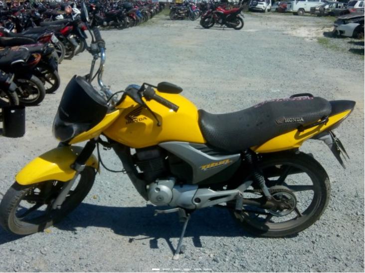 Leilão online tem Honda CG 150 Titan EX com lance inicial de R$600