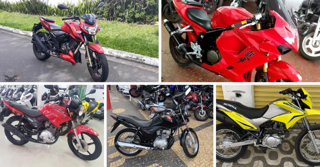 Melhores motos usadas até R$5 mil